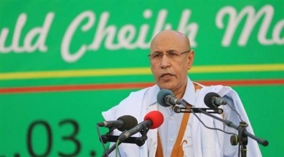 مرشح الحزب الحاكم في موريتانيا محمد ولد الغزواني(أرشيف)