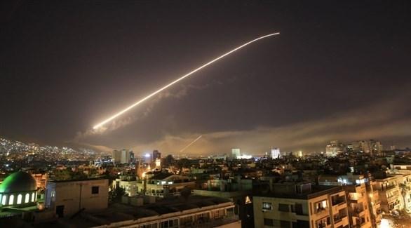 صواريخ في سماء سوريا (أرشيف)