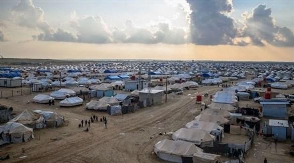 مخيم الهول للنازحين في محافظة الحسكة السورية (أرشيف)
