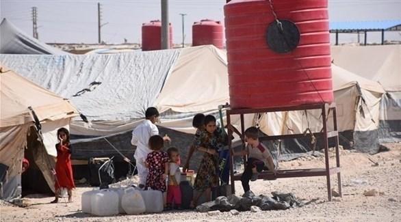 أطفال سوريون في مخيم الهول (أرشيف)