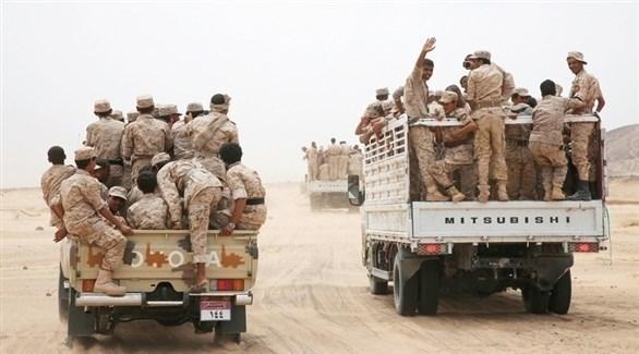آليات وجنود من الجيش اليمني (أرشيف)