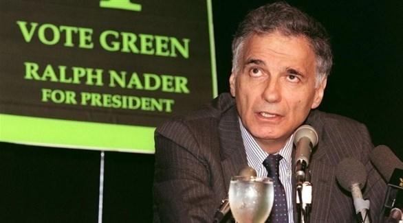 الناشط والمرشح السابق للانتخابات الرئاسية الأمريكية رالف نادر (أرشيف)