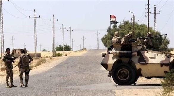 قوة أمنية مصرية في سيناء (أرشيف)