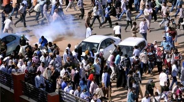 جانب من التظاهرات في الخرطوم (أرشيف)