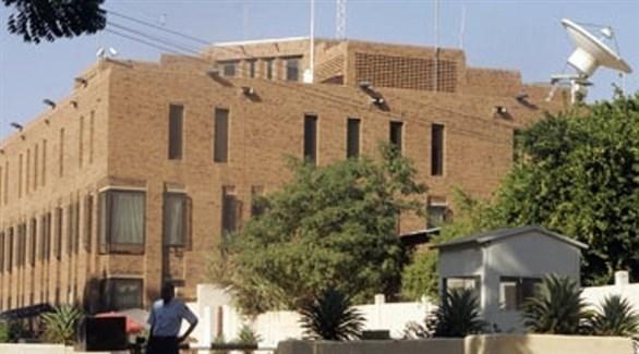 مبنى السفارة البريطانية في الخرطوم (أرشيف)