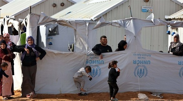 لاجئون سوريون في مخيم الأزرق بالأردن (أرشيف)
