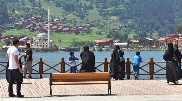 سياح سعوديين في تركيا (أرشيف)