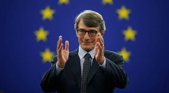 رئيس البرلمان الأوروبي المنتخب ديفيد ساسولي (رويترز)