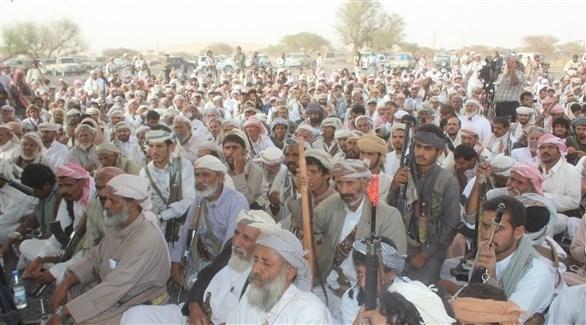 مسلحون من قبائل مأرب (أرشيف)