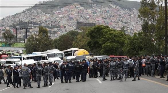 عناصر الأمن المكسيكي (أرشيف)