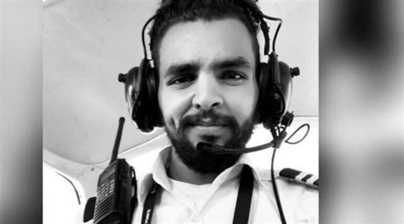 الطيار السعودي عبد الله خالد الشريف (من المصدر)