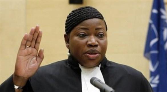 المدعية العامة للمحكمة الجنائية الدولية فاتو بنسودا (أرشيف)