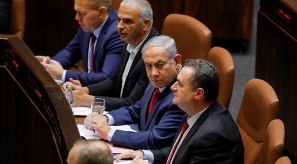رئيس الوزراء الإسرائيلي بنيامين نتانياهو في الكنيست (أرشيف)