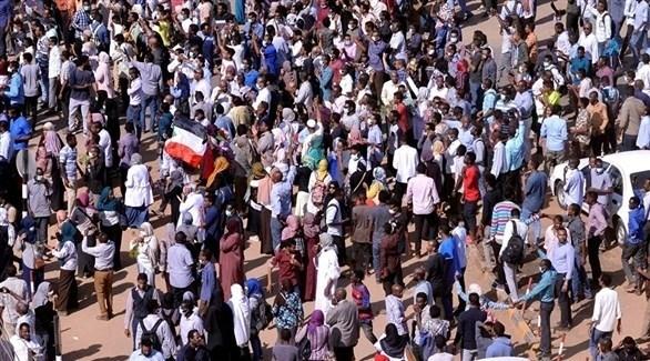 متظاهرون في السودان (أرشيف)