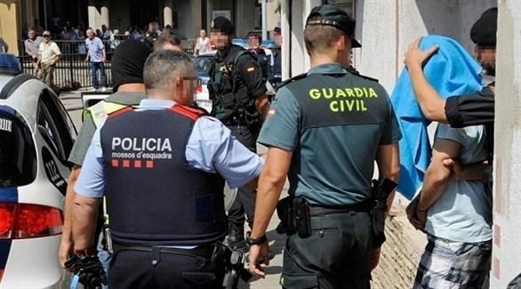 عناصر من الشرطة الأسبانية (أرشيف)