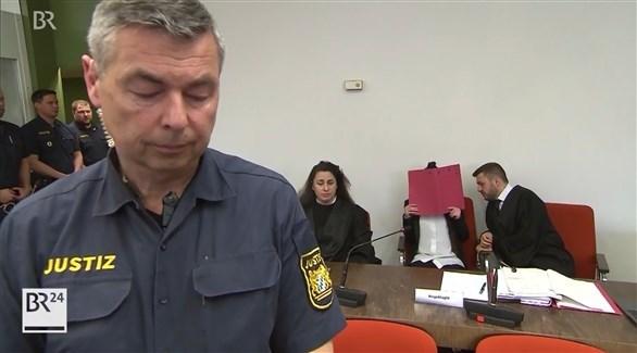 محاكمة داعشية ألمانية (أرشيف)