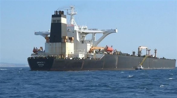 ناقلة النفط الإيرانية غريس 1 (أرشيف)