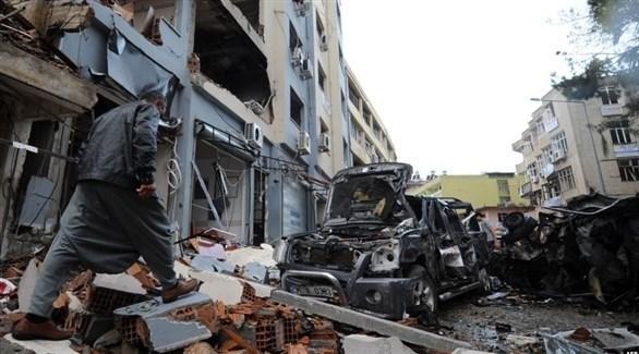 تفجير سابق في الريحانية (أرشيف)