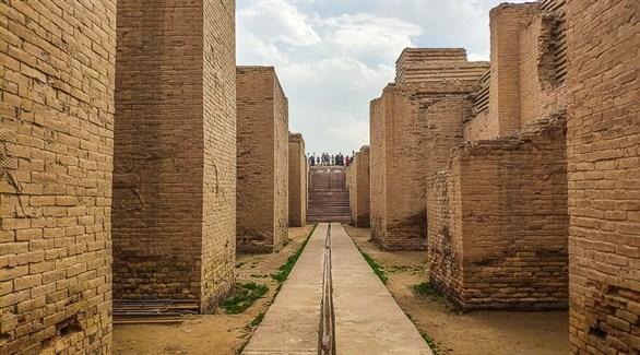 جانب من مدينة بابل العراقية التاريخية (أرشيف)