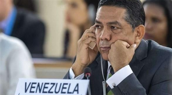 نائب وزير الخارجية الفنزويلي وليام كاستيو (أرشيف)
