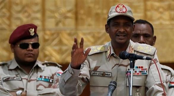 نائب رئيس المجلس العسكري الانتقالي السوداني محمد حمدان دقلو (أرشيف)