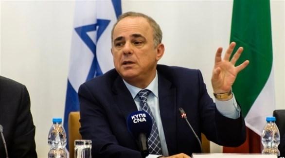 وزير الطاقة الإسرائيلي يوفال شتاينتز (أرشيف)