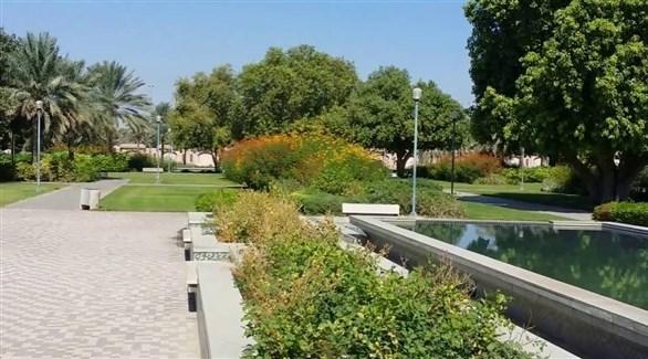 حديقة في مدينة العين (أرشيف)