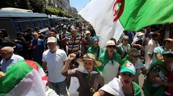 تظاهرات في الجزائر(أرشبف)