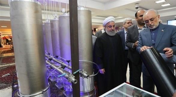 روحاني وظريف في زيارة إلى منشأة نووية (أرشيف)