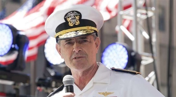 نائب رئيس عمليات البحرية الأمريكية المستقيل الأدميرال ويليام موران (أرشيف)