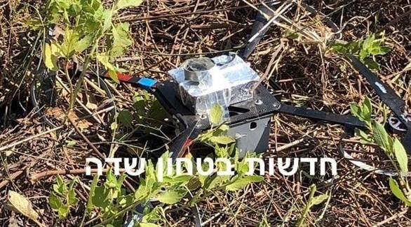 الطائرة التي أسقطها الجيش الإسرائيلي (مصارد عبرية)