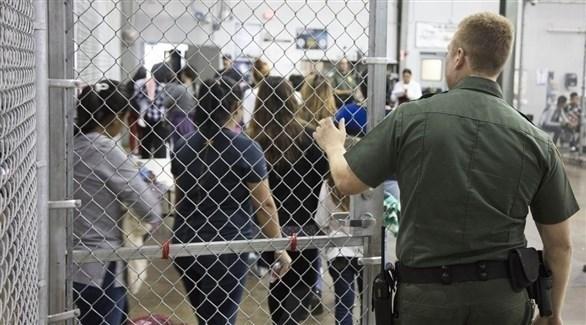مركز احتجاز مهاجرين غير شرعيين في أمريكا (أرشيف)
