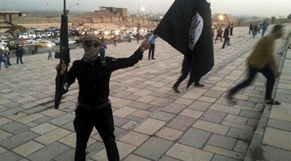 أحد عناصر داعش (أرشيف)