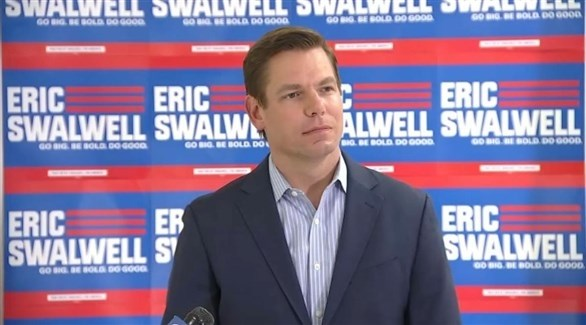 المرشح الديموقراطي المنسحب إريك سوالويل (أرشيف)