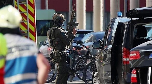 أحد عناصر الشرطة الألمانية (أرشيف)
