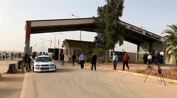 معبر جابر نصيب الحدودي بين الأردن وسوريا (أرشيف)