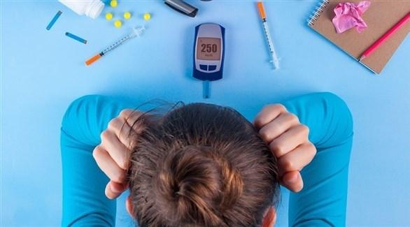 يزيد السكري خطر الاكتئاب بنسبة 25 بالمائة (تعبيرية)
