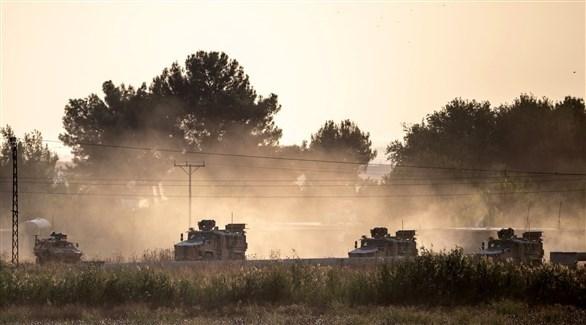 قوات تركية قرب الحدود السورية (أرشيف)