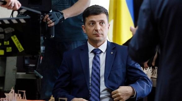 الرئيس الأوكراني فولوديمير زيلينسكي (أرشيف / أ ب)