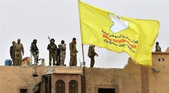 مقاتلون من قوات سوريا الديمقراطية في شمال سوريا (أ ف ب)