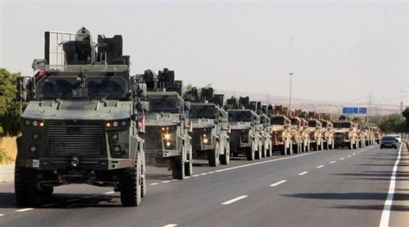 قافلة عسكرية تركية في سوريا (أرشيف)