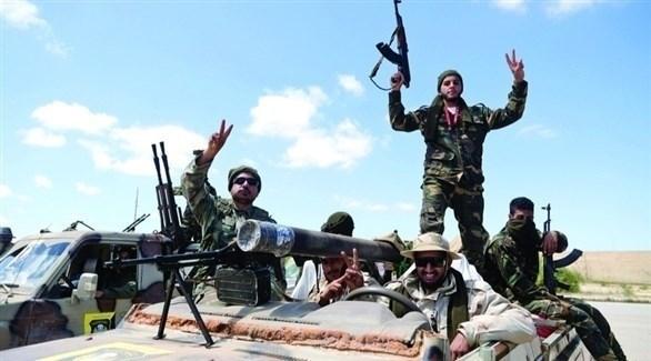جنود من الجيش الليبي في طرابلس (أرشيف)