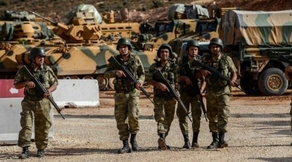 جنود أتراك في شمال سوريا (أرشيف)