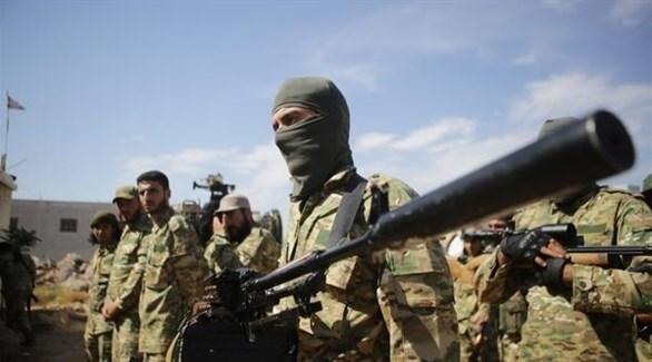 عناصر مسلحة موالية لتركيا (أناضول)