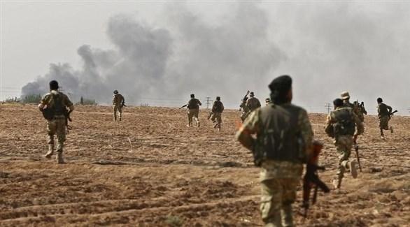 مقاتلون من قوات سوريا الديمقراطية (أرشيف)