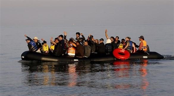 مهاجرون في بحر إيجة (أرشيف)