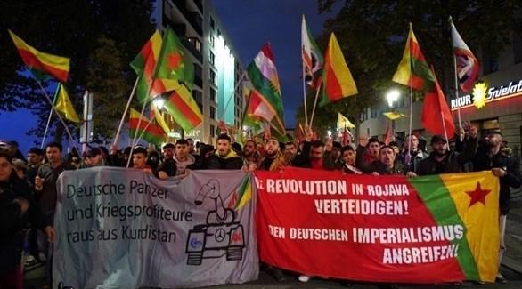 مظاهرات الأكراد في ألمانيا (أرشيف)