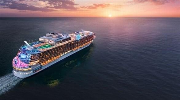 نموذج لأضخم سفينة سياحية في العالم (ميرور)
