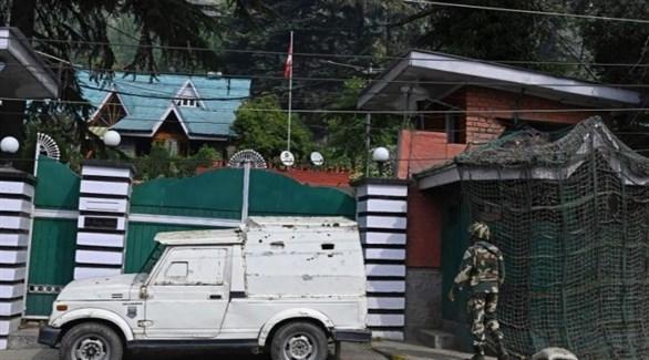 دورية أمنية هندية في كشمير (أرشيف)