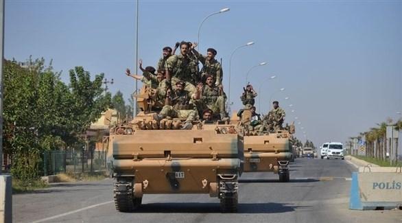 اجتياح المحتل التركي الغاشم ضد الأراضي السورية (أرشيفية)